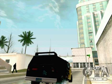 GMC The A-Team Van para GTA San Andreas vista interior
