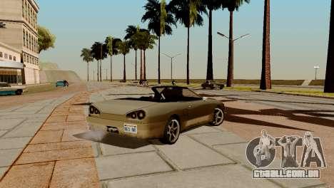 DLC garagem do GTA online de transporte novo para GTA San Andreas décimo tela