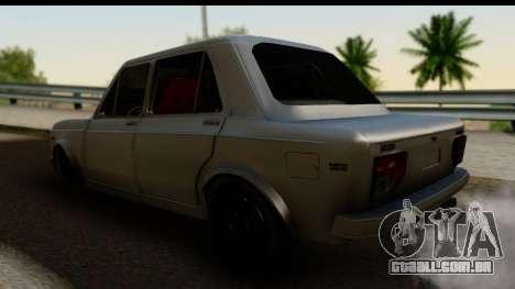 Fiat 128 para GTA San Andreas esquerda vista