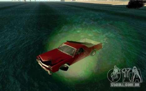 Cars Water para GTA San Andreas