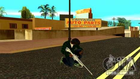 Weapon Pack para GTA San Andreas