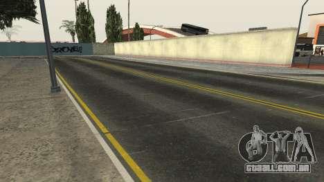 Estradas e vegetação Los Santos para GTA San Andreas