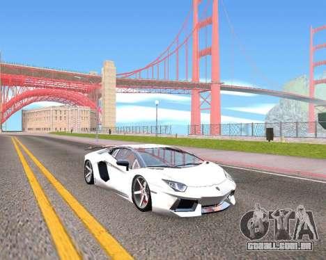 HDX ENB Series para GTA San Andreas