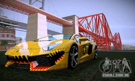 ANCG ENB para baixa de PC para GTA San Andreas décimo tela