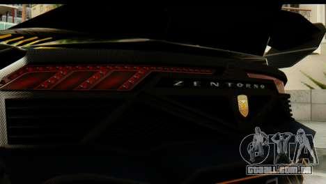 GTA 5 Pegassi Zentorno v2 SA Mobile para GTA San Andreas vista direita