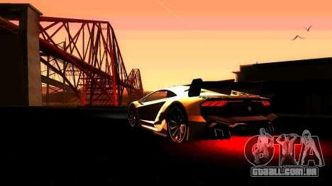 ANCG ENB para baixa de PC para GTA San Andreas terceira tela