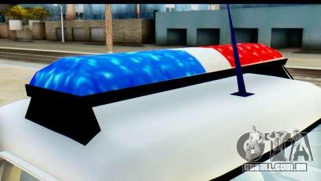 Chevrolet C10 Patrulla para GTA San Andreas vista direita