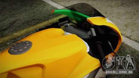 GTA 5 Bati Indian para GTA San Andreas vista direita