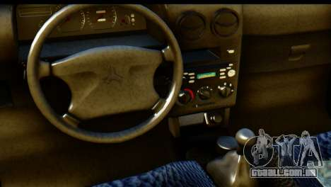 Ford Festiva Tuning para GTA San Andreas vista direita