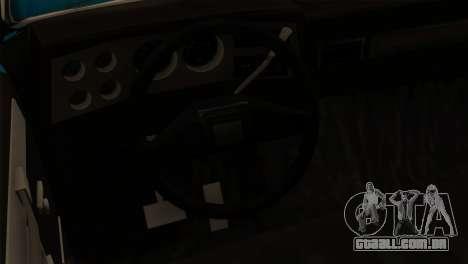 Chevrolet Custom Deluxe para GTA San Andreas vista traseira