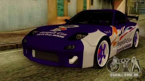 Mazda RX-7 Gangsta Club para GTA San Andreas