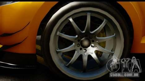 GTA 5 Maibatsu Penumbra para GTA San Andreas vista traseira