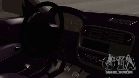 Honda Civic TnTuning para GTA San Andreas vista direita