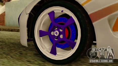 Mazda RX-7 Gangsta Club para GTA San Andreas vista direita