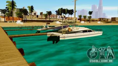 DLC garagem do GTA online de transporte novo para GTA San Andreas segunda tela