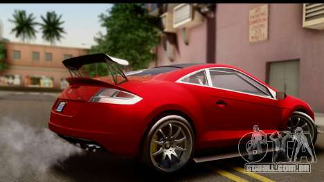 GTA 5 Maibatsu Penumbra IVF para GTA San Andreas esquerda vista