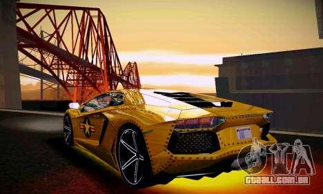 ANCG ENB para baixa de PC para GTA San Andreas twelth tela