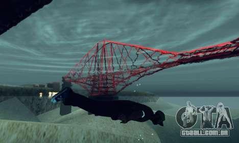 ANCG ENB para baixa de PC para GTA San Andreas segunda tela