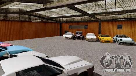 DLC garagem do GTA online de transporte novo para GTA San Andreas terceira tela