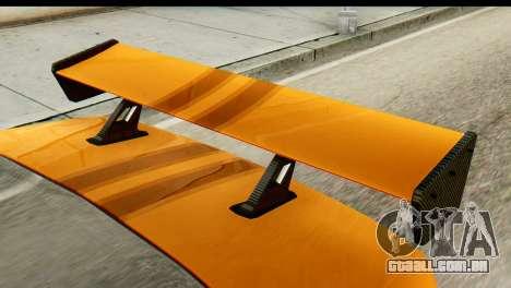 Ikco Samand Tuning para GTA San Andreas traseira esquerda vista