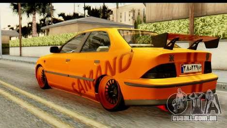Ikco Samand Tuning para GTA San Andreas esquerda vista