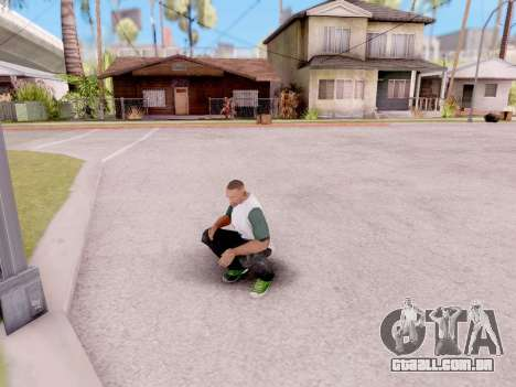 Real animações de GTA 5 para GTA San Andreas terceira tela