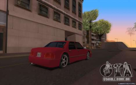 ENB for Tweak PC para GTA San Andreas por diante tela