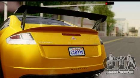 GTA 5 Maibatsu Penumbra para GTA San Andreas vista direita