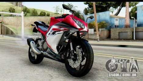 Kawasaki Ninja 250 Fi para GTA San Andreas vista traseira