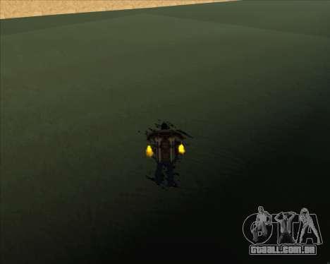 Realistic Water ENB para GTA San Andreas segunda tela