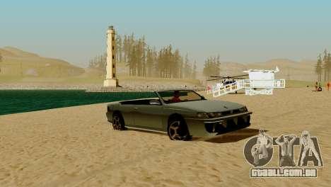 DLC garagem do GTA online de transporte novo para GTA San Andreas décima primeira imagem de tela