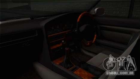 Toyota Mark GX81 para GTA San Andreas vista direita
