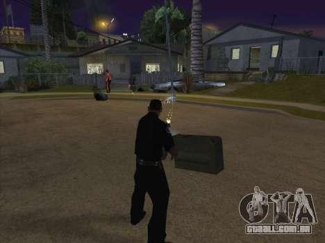 CABO de alimentação para GTA San Andreas sexta tela