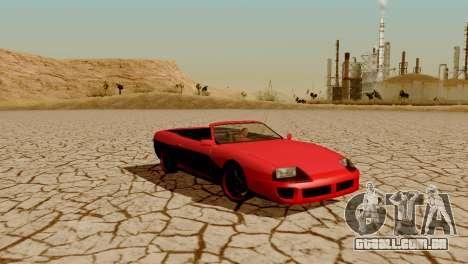 DLC garagem do GTA online de transporte novo para GTA San Andreas twelth tela