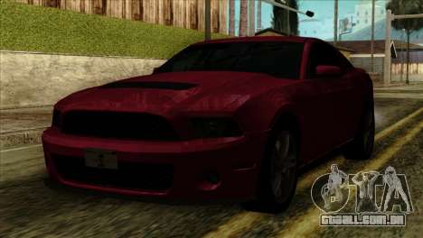Ford Shelby GT500 para GTA San Andreas