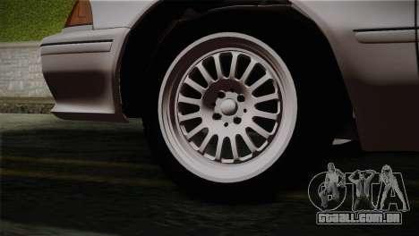Toyota Mark GX81 para GTA San Andreas traseira esquerda vista