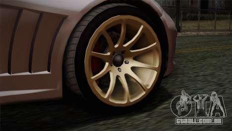 GTA 5 Bravado Banshee SA Mobile para GTA San Andreas traseira esquerda vista
