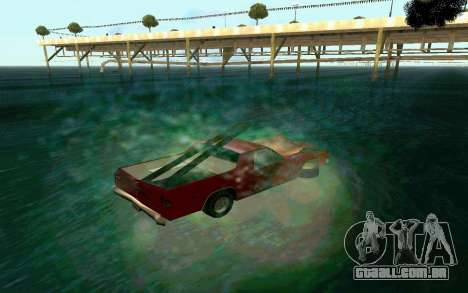 Cars Water para GTA San Andreas terceira tela