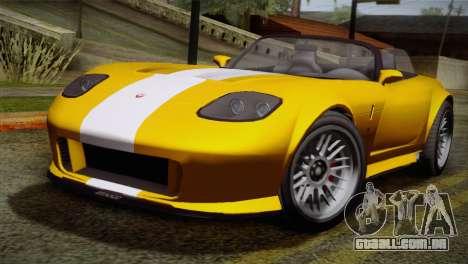 GTA 5 Invetero Coquette SA Mobile para GTA San Andreas esquerda vista