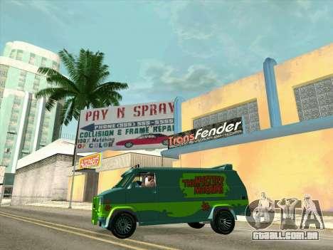 GMC The A-Team Van para as rodas de GTA San Andreas