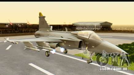 Saab Gripen NG para GTA San Andreas