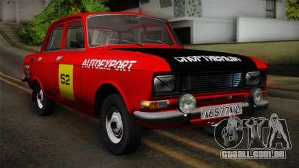 АЗЛК 412 URSS Autosport para GTA San Andreas