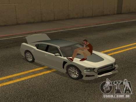 ALEX&GRIN Skin para GTA San Andreas por diante tela