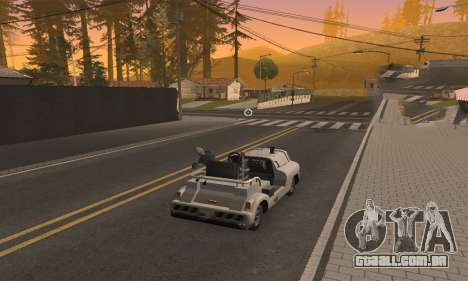 CLEO Drive By para GTA San Andreas por diante tela