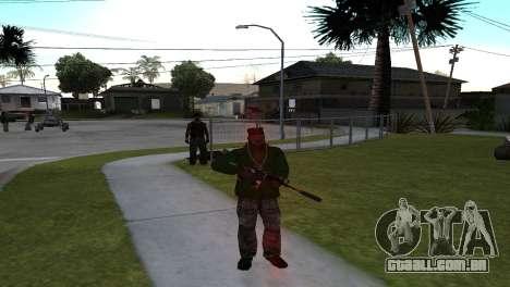 M4 Cyrex из CS:GO para GTA San Andreas segunda tela