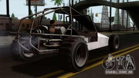 GTA 5 Dune Buggy para GTA San Andreas esquerda vista
