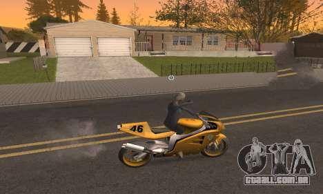 CLEO Drive By para GTA San Andreas terceira tela