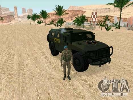 GAZ 2975 para GTA San Andreas vista direita