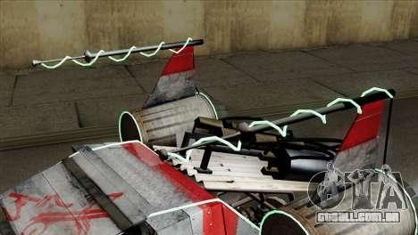GTA 5 Space Docker IVF para GTA San Andreas vista direita