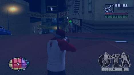 Retardar o tempo, enquanto tiro em GTA V para GTA San Andreas